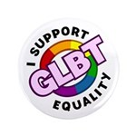 "GLBT Equality 3.5"" Button (100 pack)"