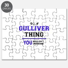 It's GULLIVER thing, you wouldn't understan Puzzle
