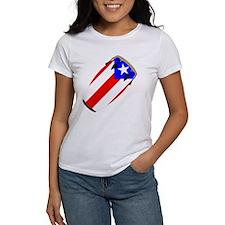Conga Puerto Rico Flag Tee