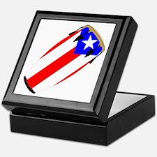 Conga Puerto Rico Flag Keepsake Box
