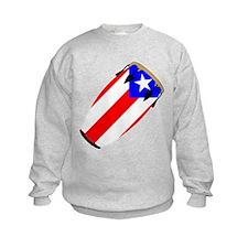 Conga Puerto Rico Flag Sweatshirt