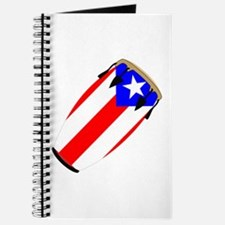 Conga Puerto Rico Flag Journal