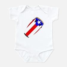 Conga Puerto Rico Flag Infant Bodysuit