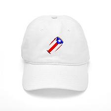 Conga Puerto Rico Flag Baseball Cap