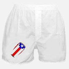 Conga Puerto Rico Flag Boxer Shorts