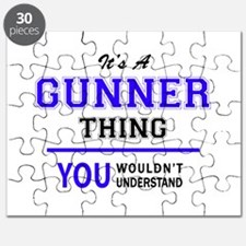 It's GUNNER thing, you wouldn't understand Puzzle