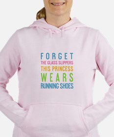 Cute Princess sayings Women's Hooded Sweatshirt