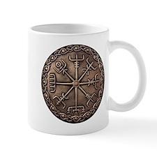 Brass Vegvisir - Viking Compa Mug
