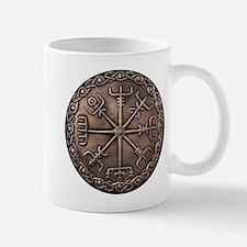 Brass Vegvisir - Viking Compa Small Mugs