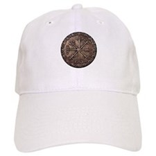 Brass Vegvisir - Viking Compa Baseball Cap