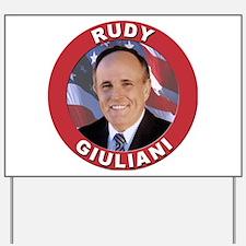 Rudy Giuliani Yard Sign