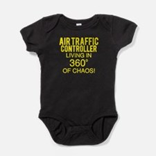 Air Traffic Controller Baby Bodysuit