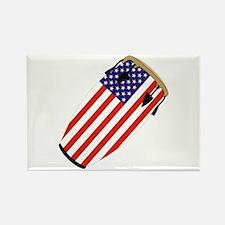 Conga USA Flag music Rectangle Magnet