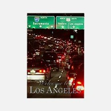 Los Angeles welcome souvenir magnet
