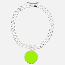 Fluorescent Green Solid Bracelet