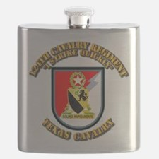 Flash - 124th Cavalry Regt Flask