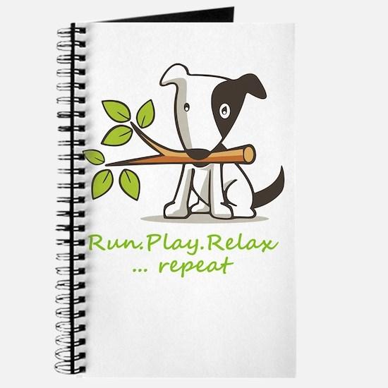 Cute Rescue dog Journal
