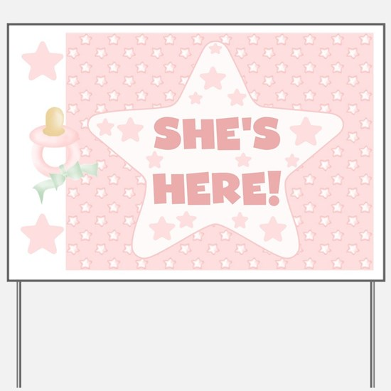 Announce Baby Girl Yard Signs – How to Announce Baby Girl