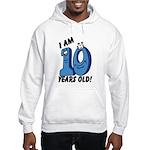 I am Ten Years Old! Hooded Sweatshirt