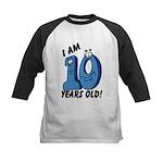 I am Ten Years Old! Kids Baseball Jersey