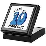 I am Ten Years Old! Keepsake Box