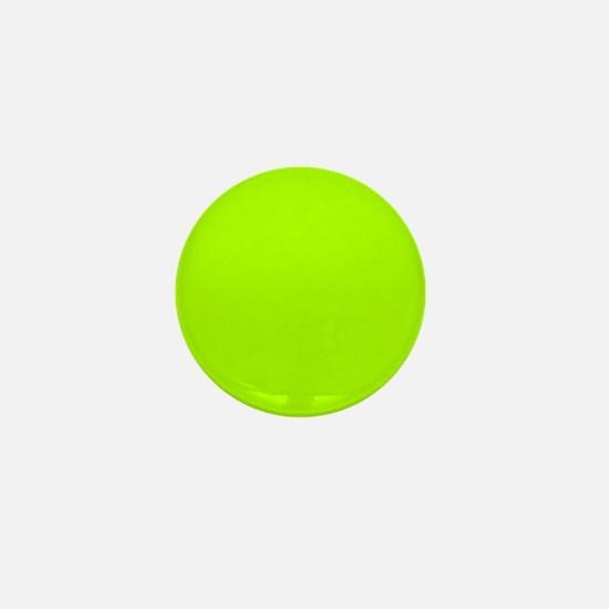 Fluorescent Green Solid Colo Mini Button (10 pack)