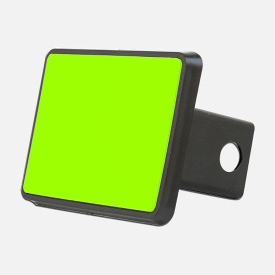Fluorescent Green Solid Co Hitch Cover
