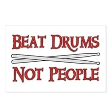 Beat Drums Not People Postcards (Package of 8)