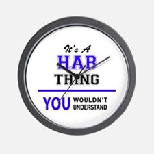 It's HAB thing, you wouldn't understand Wall Clock