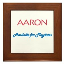 Aaron - Available for Playdat Framed Tile