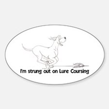 Strung Out 1 Oval Decal