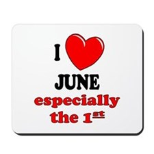 June 1st Mousepad