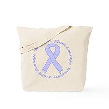 Faith Courage Wisdom Tote Bag