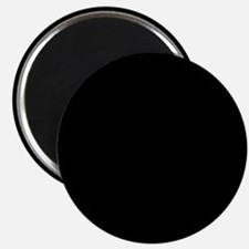 Simply Black Solid Color Magnets