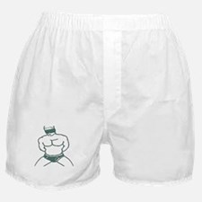 BLINDFOLD SUBMISSION/TEAL Boxer Shorts