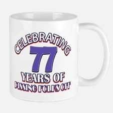 77th birthday design Mugs