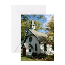 Scenic Country Church Greeting Card