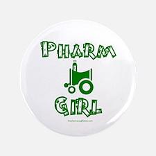 """Pharm Girl 3.5"""" Button"""