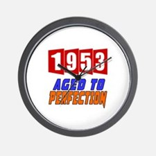 1953 Aged To Perfection Wall Clock