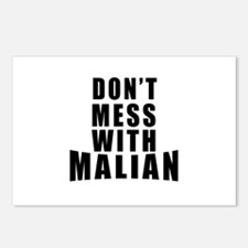 Don't Mess With Mali Postcards (Package of 8)