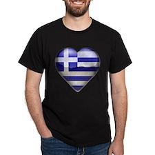 Greece Heart T-Shirt