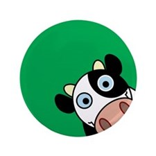 """Happy Cow 3.5"""" Button (100 pack)"""