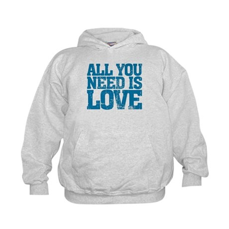 All you need is Love Kids Hoodie