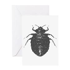 bat bug Mourning Card