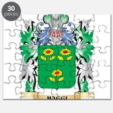 Maggi Coat of Arms - Family Crest Puzzle