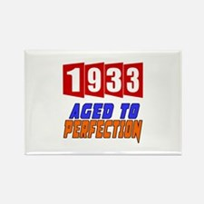 1933 Aged To Perfection Rectangle Magnet