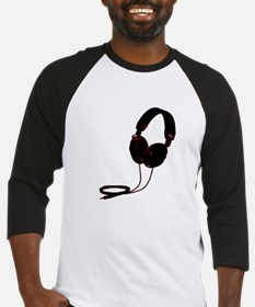 headphoneswhite copy Baseball Jersey