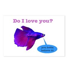 Betta Fish Postcards (Package of 8)