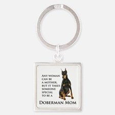 Doberman Mom Keychains