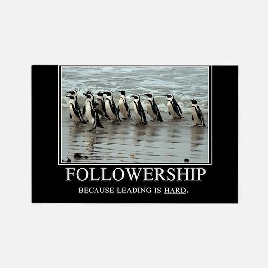 Followership Rectangle Magnet